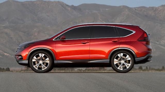 2012 Honda CR-V side