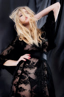 Valerie Van Der Graaf Hot in Agent Provocateur Sexy Lingerie Model Photoshoot