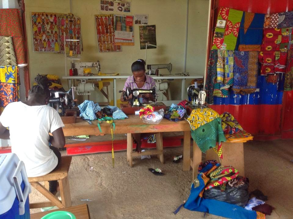 Sewing center that is making a difference in the lives of needy woman and children.