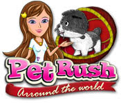 เกมส์ Pet Rush - Arround the World