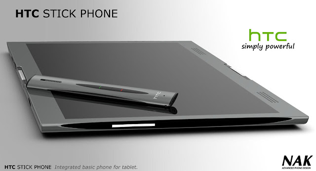 HTC Stick Phone Concept is the Answer Inside the HTC Tube Tablet Seen On www.coolpicturegallery.us