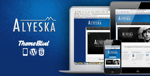 Alyeska WordPress Theme Free Download by ThemeForest.