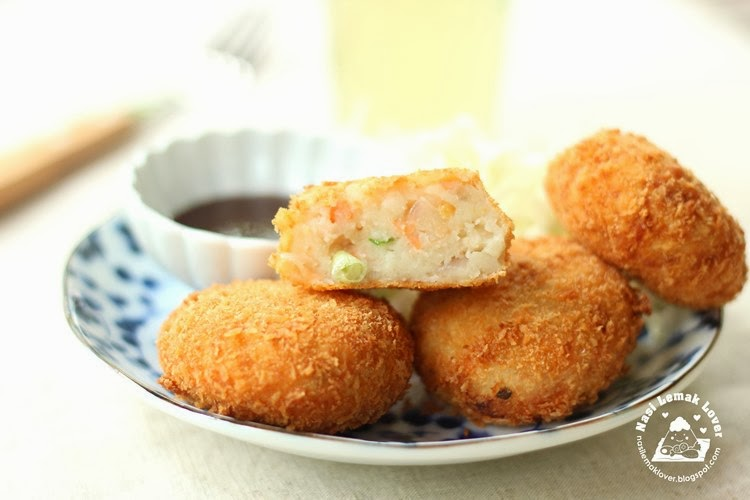 Nasi Lemak Lover: Japanese Salted Salmon Croquettes 塩鮭可乐饼 ...