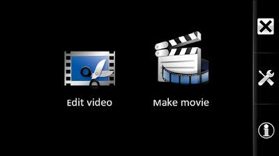 Movie editor for Nokia 5800