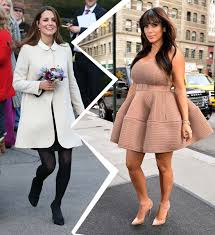Kate Middleton and Kardashian Pregnancy