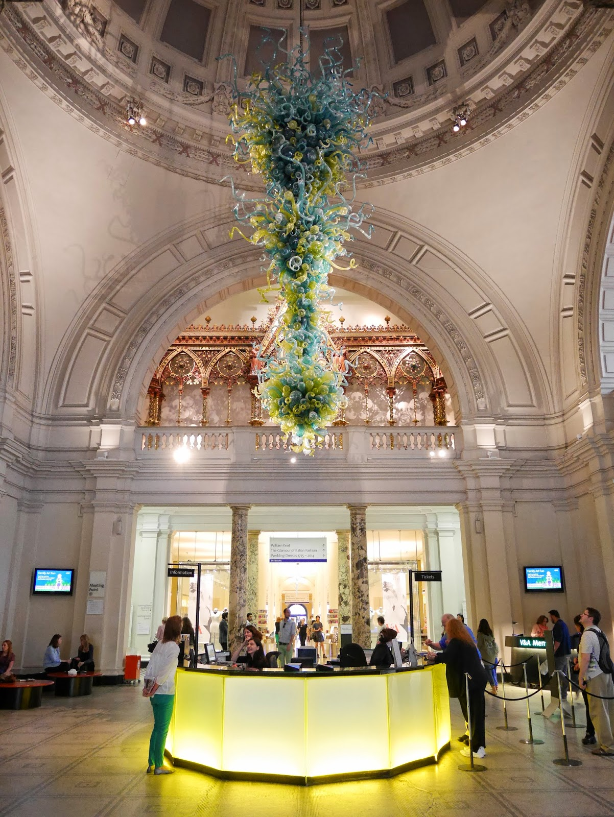 Foyer of the Victoria and Albert Museum