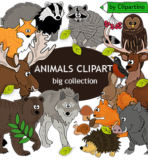 Animals by Clipartino.com