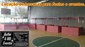 LOCAÇÃO DE BARRACAS