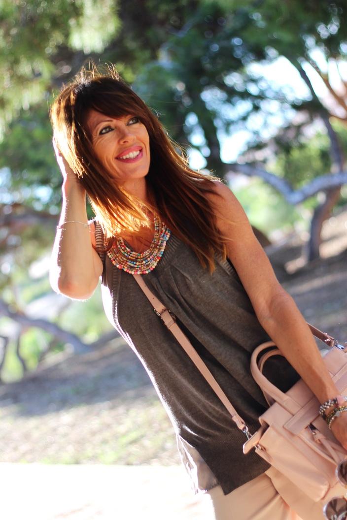 Culotte pants - Streetstyle - Flatforms - fashionblogger - tendencias otoño 2015 - pepe moll bolsos