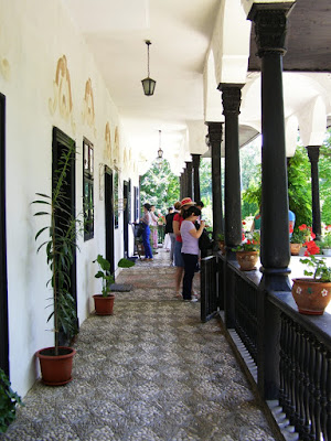 veranda Conacul Bellu