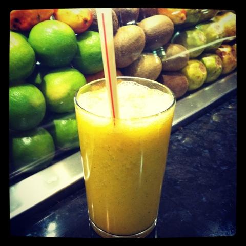 grön juice fasta