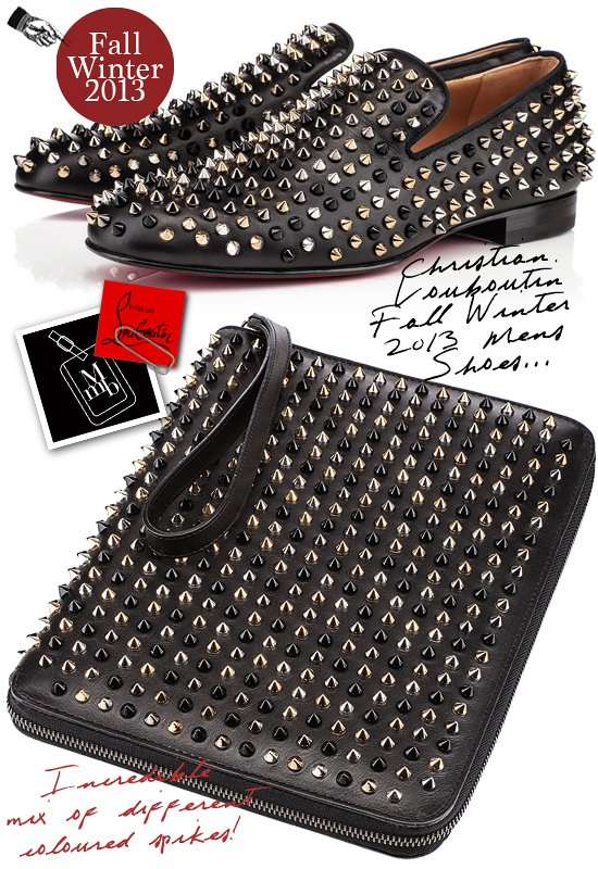 christian louboutin mens accessories