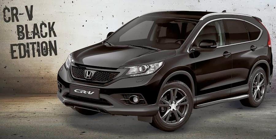 One hundred cars new car honda cr v black edition for Honda black car