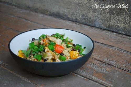 The Gingered Whisk: Thai Chicken and Quinoa Casserole