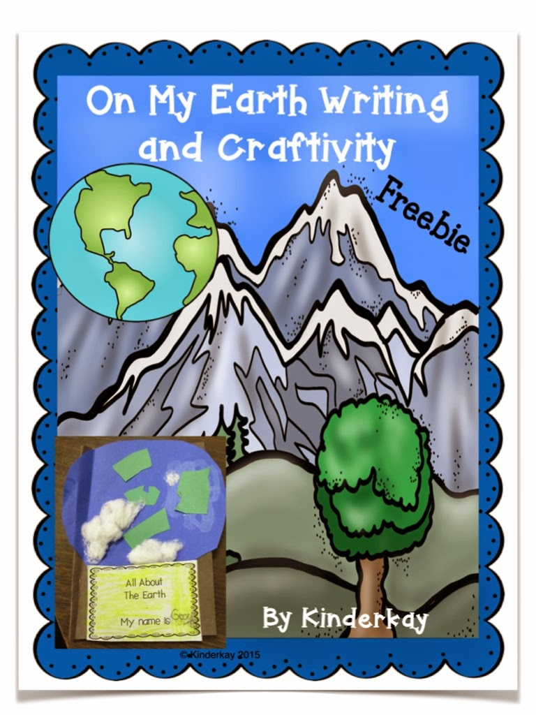 https://www.teacherspayteachers.com/Product/On-My-Earth-Writing-and-Craftivity-FREEBIE-1707