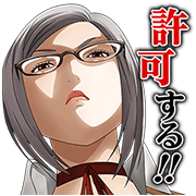 Prison School talking stickers
