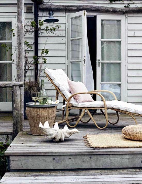 terrazas decoradas en blanco