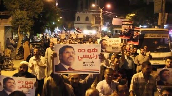 مظاهرات ليلية في 17 محافظة مصرية إحياءً لذكرى