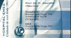 DR. WILY DE M. AGUIRRE