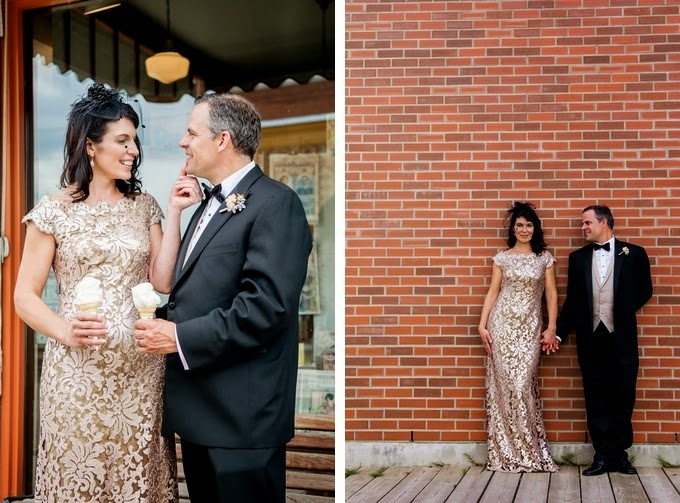 1920s Inspired Vintage Alberta Wedding: Tracy and Dominic