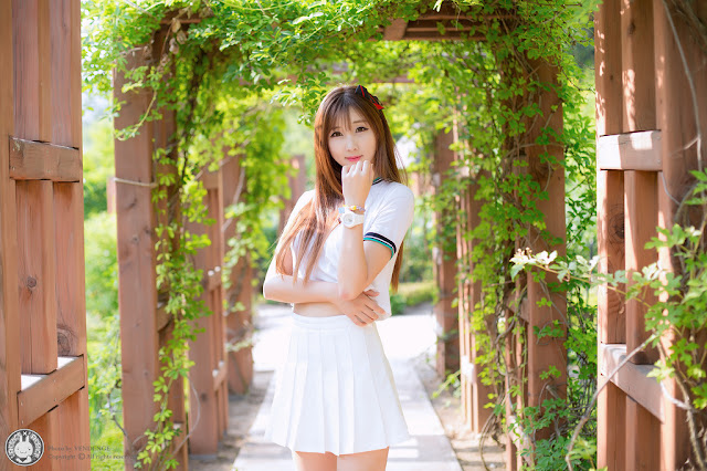4 Three Outdoor Sets With Lovely Lee Yoo Eun - very cute asian girl-girlcute4u.blogspot.com