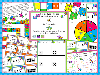 Kindermyles Spring Things Math For April