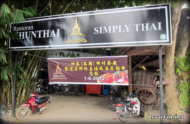 KhunThai Authentic Thai Restaurant Teluk Kumbar Penang