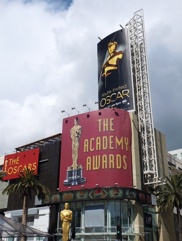 83rd Academy Awards billboards