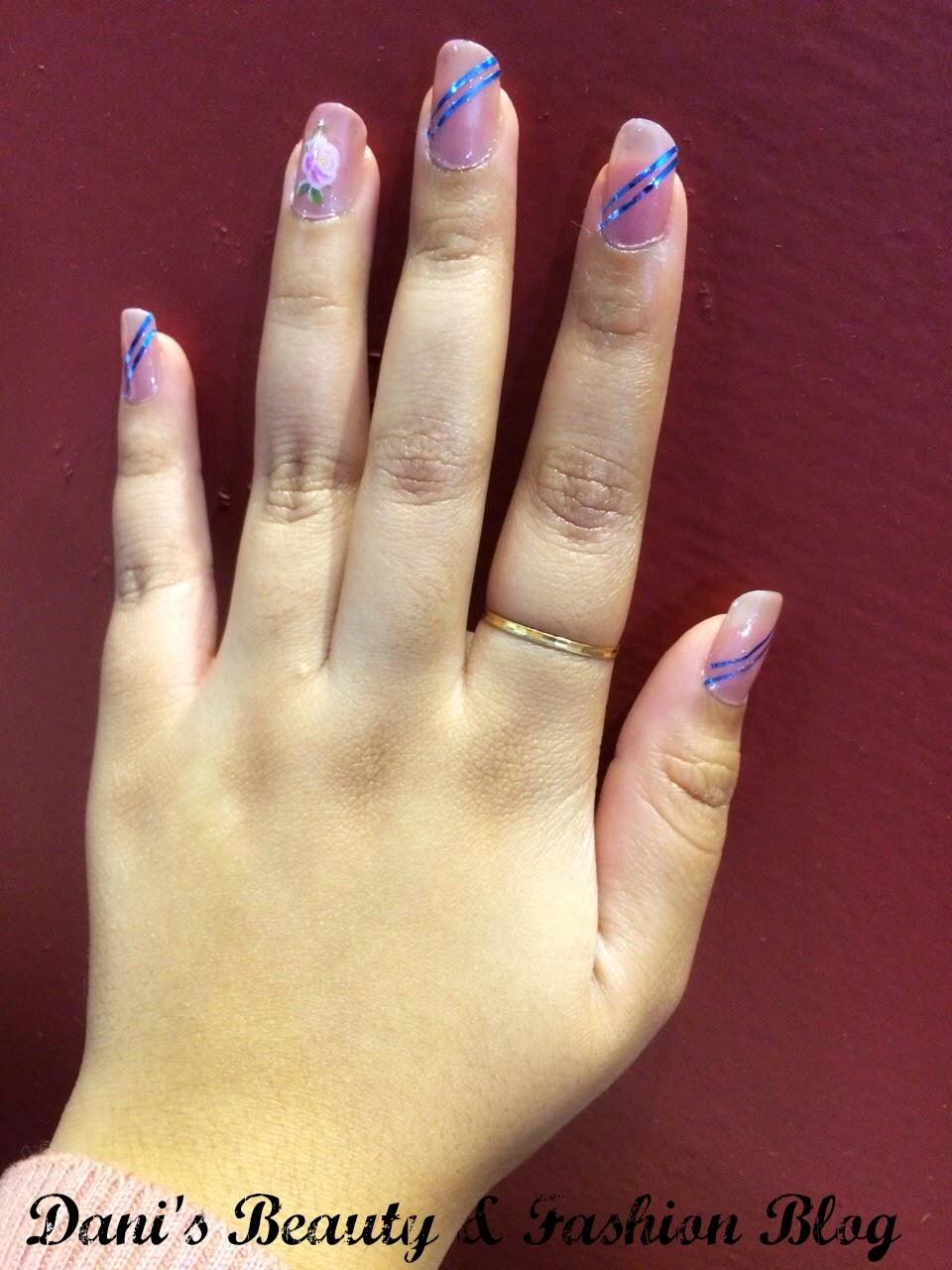 Dani\'s Beauty & Fashion Blog: Nail Art Tutorial # 2