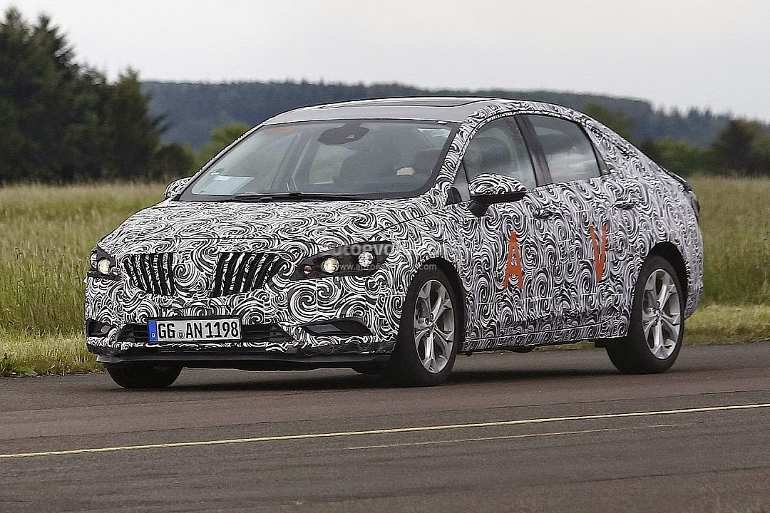 Spy Shots Next-Gen Buick Verano