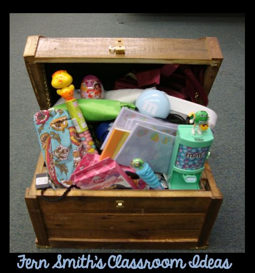 Fern Smith's FREE Inexpensive Ways to Fill Up Your Treasure Box Printables at Classroom Freebies
