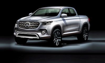Pabarikan Mercedes-Benz Akan Membuat Mobil Pickup