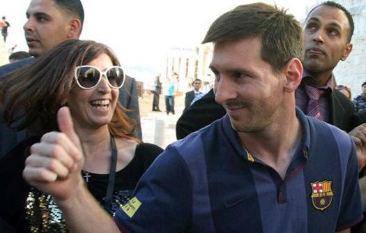 Lionel Messi dukung Israel