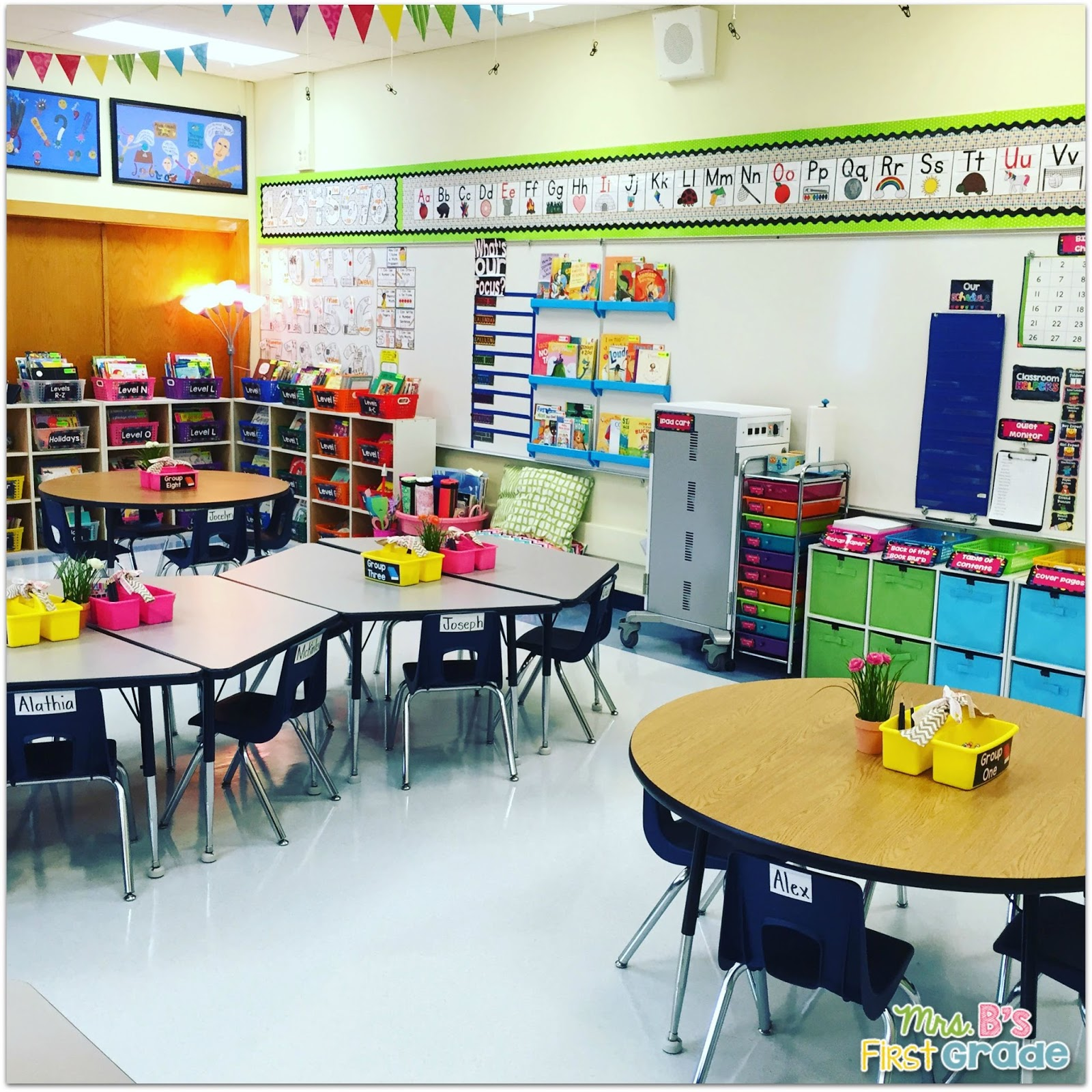 Classroom Ideas Primary ~ My classroom mrs b s first grade