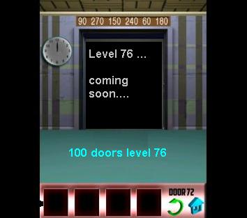 100 doors level 76