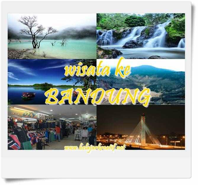 5 daftar tempat wisata paling populer di Bandung, Jawa Barat, Indonesia