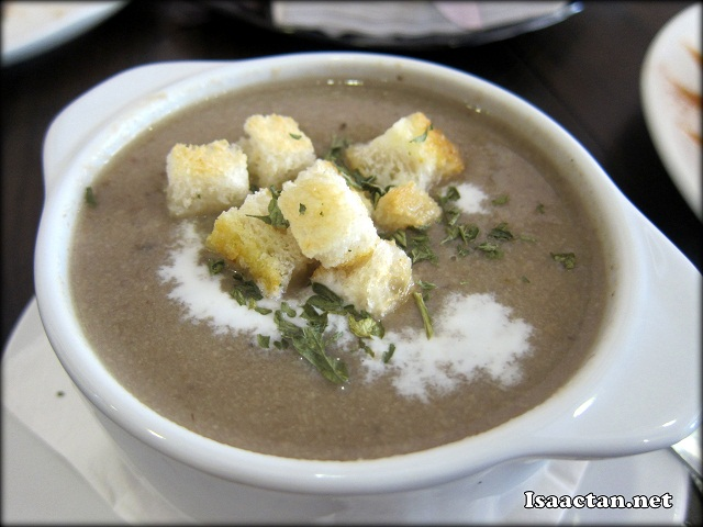 #1 Mushroom Soup - RM7.50
