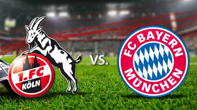 اهداف مباراة بايرن ميونخ وكولن من الدوري الالماني Bayern Munich 4-1 FC Koln