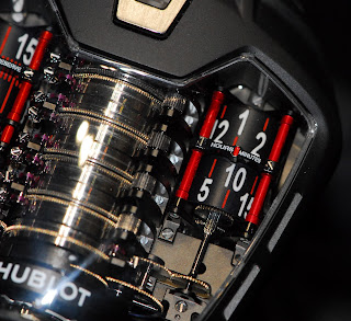 heures minutes Hublot MP-05