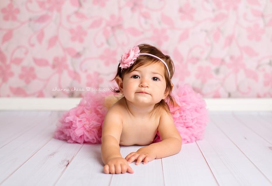 eugene springfield oregon baby photography pink tutu