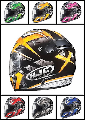 HJC CL-16 Shock Motorcycle Helmet