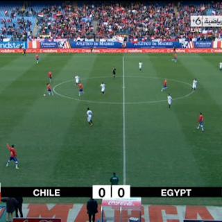 6-2-2013 تشكيل منتخب وأهداف مصر - تشيلي تعليق : محمد الكواليني