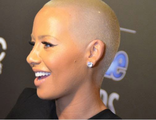 Photos: Amber Rose New Movie Scene