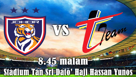 Siaran Langsung JDT vs T Team Liga Super 18 April 2014