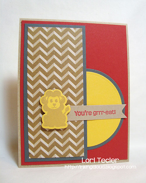 You're Grrr-eat-designed by Lori Tecler-Inking Aloud-stamps and dies from WPlus9