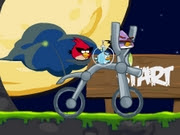Angry Birds Space Bike | Juegos15.com