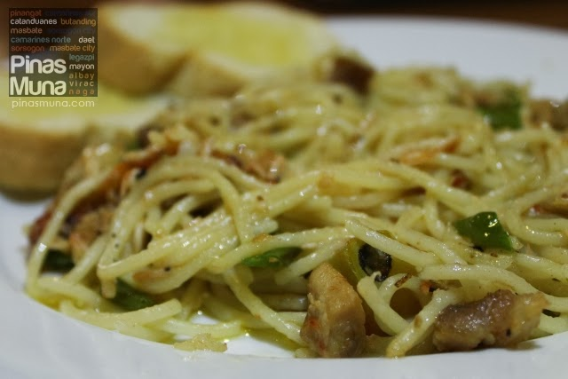 Bicol Express Pasta by Small Talk Cafe