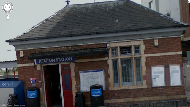 Kenton station on the Bakerloo line of the London Underground
