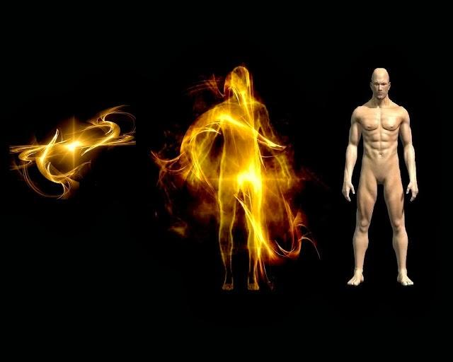 espírito, perispírito, corpo, fluido universal, corpo luminoso