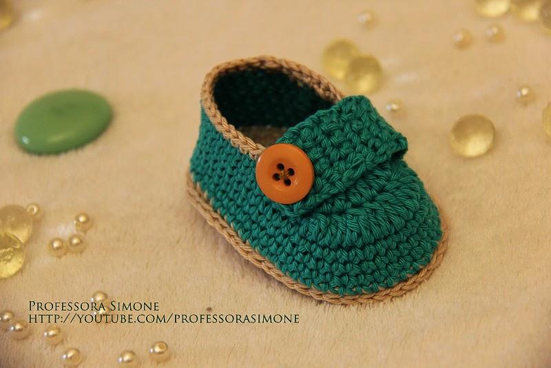 Tutorial Botines del bebé Charm Paso a Paso